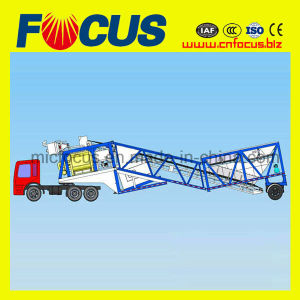 Mobile Cement Batching Plant Yhzs35 Mobile Batch Plant pictures & photos