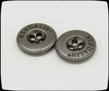 Sewing Zinc Alloy Button for Suit Pants pictures & photos