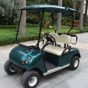 CE Approved China 2 Seat Battery Powered Golf Cart (DG-C2) pictures & photos