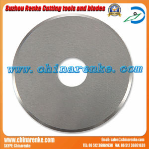 60mm Rotary Round Steel Cutter Blade for Fabric Solid Circle OEM Factory pictures & photos