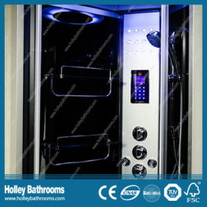Popular Computer Display Shower Cubicle with Heating Towel Bar (SR121N) pictures & photos