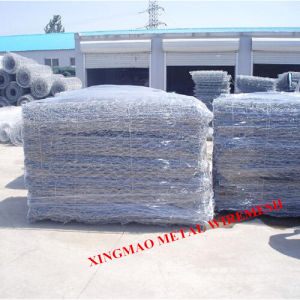 Galvanized& Gray Color PVC River Bank Protected Gabion Mesh/Gabion (XM-G81) pictures & photos