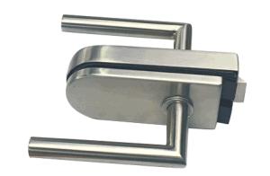 Stainless Steel Wide Opening Glass Door Lock pictures & photos