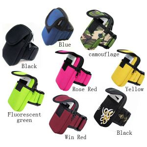 Running Wrist Pouch Mobile Phone Arm Bag Wallet pictures & photos