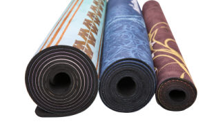 """Yoga Mat Washable Free of Harmful Substances, Durable, Extra Long 72"""" pictures & photos"""