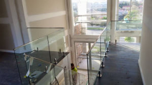 Frameless Glass Balustrades System with Stainless Steel Post pictures & photos