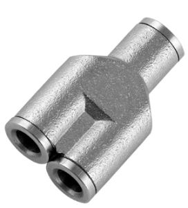 Nickel Brass Push in Fittings pictures & photos