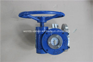 Stainless Steel CF8m 2 Pieces Control Ball Valve (Q41F-10/16/25) pictures & photos