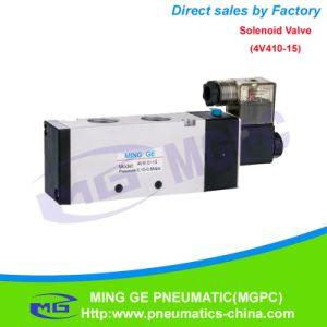 4V400 Pneumatic Solenoid Valve (4V410-15, 4V420-15, 4V430-15) pictures & photos