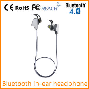 New Stylish Bluetooth in-Ear Earphone with Flat Cable