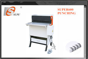 Heavy Duty Electric Interchangeable Dies Punching and Binding Machine (SUPER600) pictures & photos