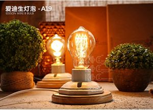 A19 A60 Hot Sale Vintage Industrial Pendant Light Used Edison Bulb pictures & photos