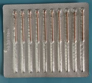 Shunhe Acupuncture Needle Packaged with Aluminum Foil Blister pictures & photos