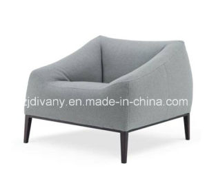 Modern Style Leather Single Sofa (D-76-A) pictures & photos