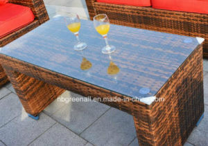 PE Rattan Furniture, Outdoor Rattan Sofa Set pictures & photos