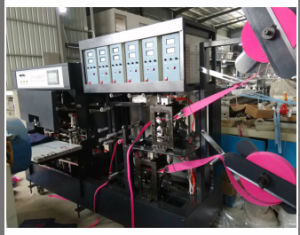 2 Sides Soft Handle Attaching Machine for Non Woven Bags (DC-A) pictures & photos