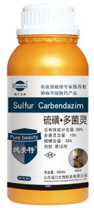 Low Toxicity Fungicide Formulation Sc 15% Carbendazim pictures & photos