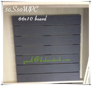 Interlocked Tiles 500X500mm Outdoor Patio Wood Plastic Product DIY Tile WPC pictures & photos