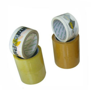 OEM New Printed White Packing Tape pictures & photos