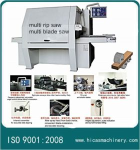 Hc 30-150mm Thickness Multi-Blade Circular Saw pictures & photos