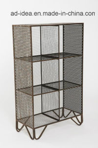 Three Layers Metal Wire Display Stand/ Exhibition for Cosmetic, Ornament pictures & photos