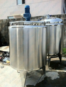 Greek Yogurt Fermentation Jacketed Heating Tank Price pictures & photos
