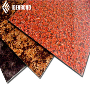 PVDF Coating Stone Look Aluminium Composite Panel for Wall Cladding pictures & photos