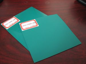 Antistatic Rubber Sheet ESD Rubber Sheet with Blue/Black Color pictures & photos