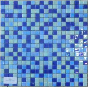 Glass Mosaico Blue Iridium pictures & photos