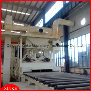 Metal Sheet Ailess Sand Blasting Cleaning Machine for Rust Removal pictures & photos