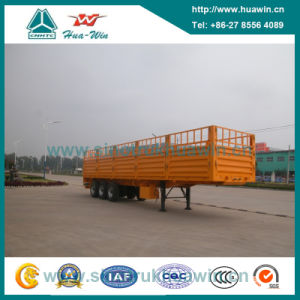 Sinotruk Huawin 40FT 3-Axle Storehouse Cargo Semi Trailer pictures & photos