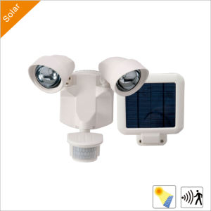 6W Solar LED Security Garden Street Lights with PIR Sensor