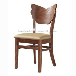 Classy Solid Wood Dining Chair for Restaurant Cafe (HW-033C)
