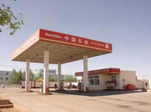 New Design Stable Steel Construction Space Frame Gas Station pictures & photos