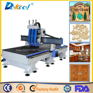 3 Process CNC Router Multi Spindle Head Engraving Machine Wood Cutting Atc Door Making Machine pictures & photos