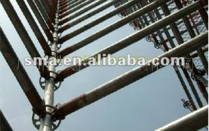 Powder Coated Ringlock Scaffolding pictures & photos