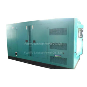 Soundproof Diesel Generator 260kw with Cummins