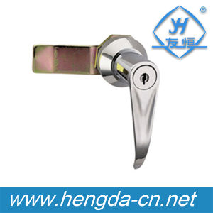 Industrial Die Casting Cabinet Electrical Panel Flush Swing Handle Lock (YH9686) pictures & photos