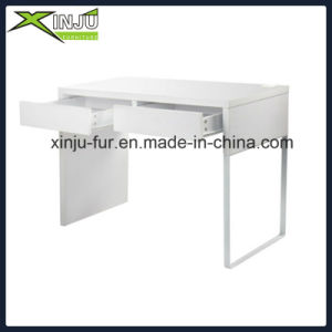 Home Office White Laptop Study Desk pictures & photos