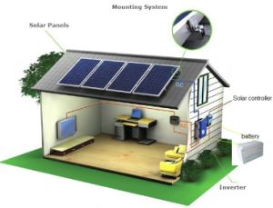 Offer Home System Solution Solar PV Power System 10kw pictures & photos