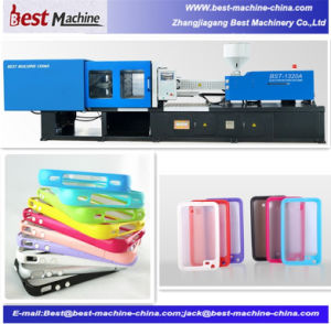 Standard Plastic Phone Shell Injection Moulding Making Machine pictures & photos