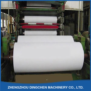 Dingchen Factory Manufacturer Newspaper Printing Paper Making Machine (2400mm 20-30tpd) pictures & photos