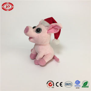 Pink Pig Sitting Adorable Hotsale Gift Xmas Soft Toy pictures & photos