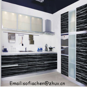 High Gloss UV Painting MDF Kitchen Cabinet