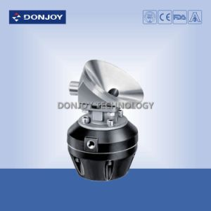 Ss 316L Manual Tank Bottom Diaphragm Valve with Clamp Ends pictures & photos