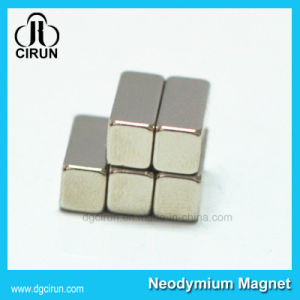 Custom Block Shape N35 Strong Neodyium Magnet for Windmill pictures & photos