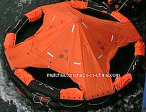 50 Persons Canopied Reversible Inflatable Liferaft pictures & photos