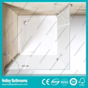 Hinger Door Ground Glass Double Doors Selling Simple Stainless Steel Hardware Aluminum Shower-Se710m pictures & photos
