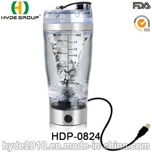 Hot Sale Plastic Vortex Shaker Bottle, Plastic Electric Protein Shaker Bottle (HDP-0824) pictures & photos