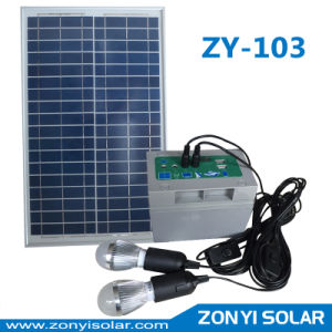 Zy-103 Solar DC Light System with Mobile Charger pictures & photos